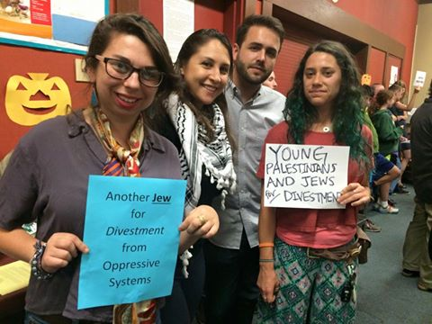 Photo via Young Jewish Voice for Peace - Bay Area